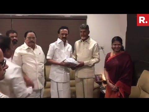 Chandrababu Naidu To Meet MK Stalin In Chennai