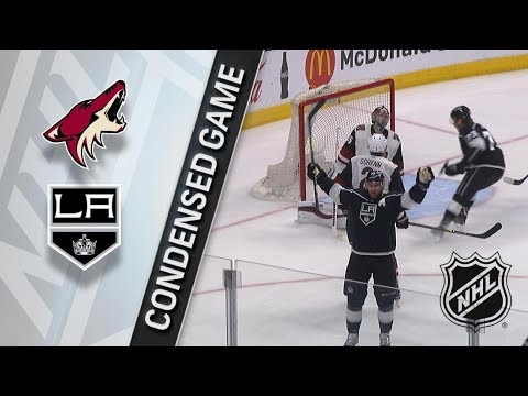 Arizona Coyotes vs Los Angeles Kings – Mar. 29, 2018 | Game Highlights | NHL 2017/18. Обзор