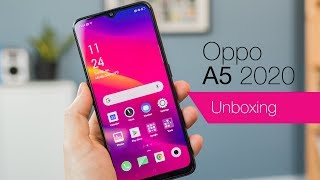 Oppo A5 2020 UK unboxing & first impressions