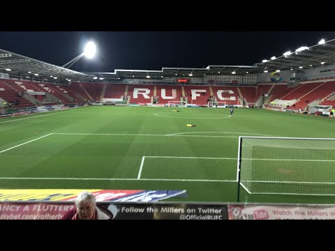 Rotherham United Vs Oxford United - Match Day Experience