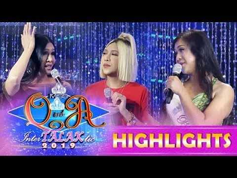 It's Showtime Miss Q & A: Vice Gets Irritated With Miss Q & A Candidates