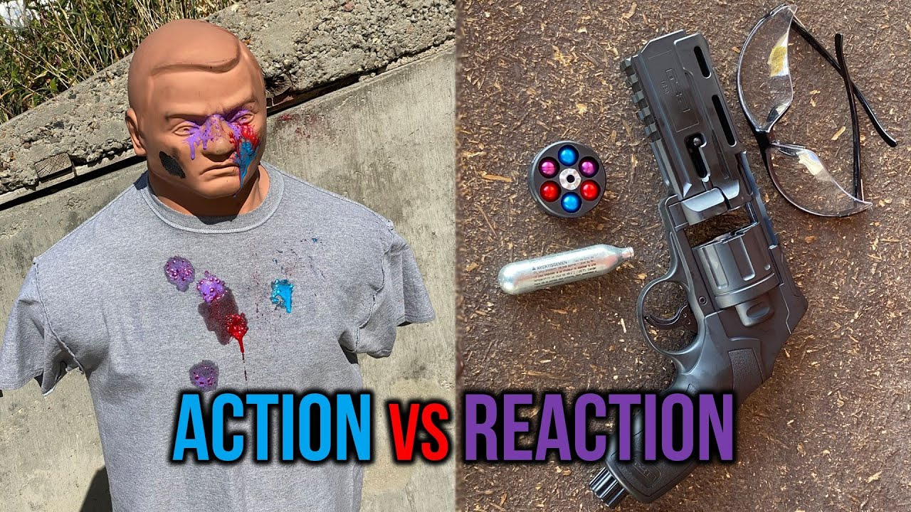 Action vs. Reaction: How Fast Can a Bad Guy Shoot You?