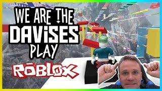 More Than Half Way There   Roblox Mega Fun Obby EP-43   We Are The Davises Gaming