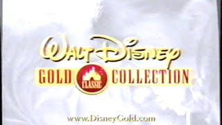 Walt Disney Gold Classic Collection (2000) Promo (VHS Capture)
