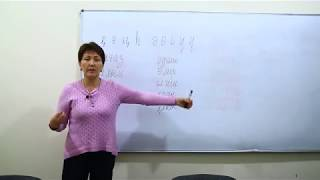 """Уроки казахского """"изучение алфавита казахского языка""""   kazseminar.kz"""