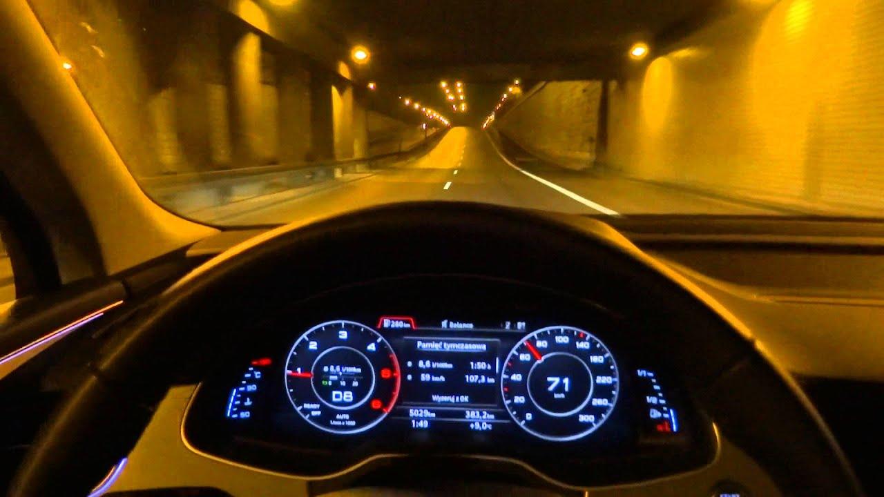 2015 2016 Audi Q7 3.0 TDI (272hp) Quattro Matrix Led Test ...