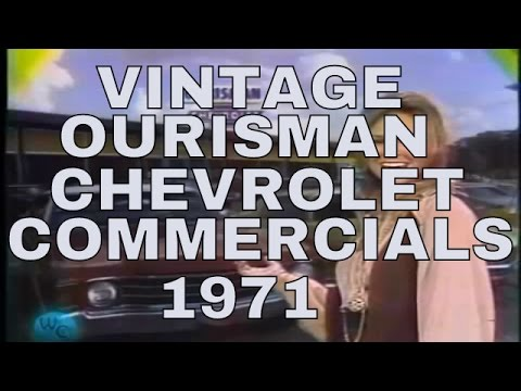 Ourisman Chevrolet Ads From 1971 Youtube