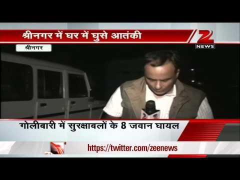 Srinagar: Eight policemen injured in encounter with terrorists