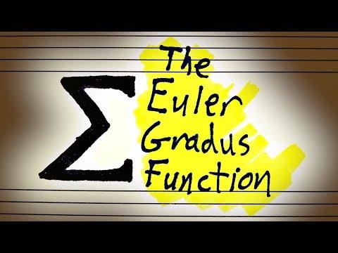 Leonhard Euler's Magical Consonance Formula