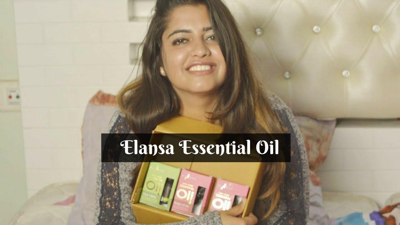 Elansa Essential Oil | Tea Tree, Rose Otto & Geranium | Product Review