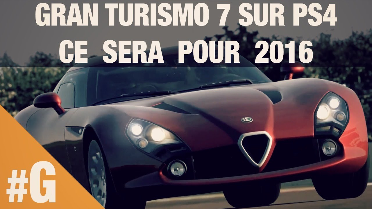 gran turismo 7 sur ps4 date de sortie en 2016 youtube. Black Bedroom Furniture Sets. Home Design Ideas