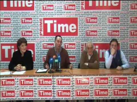 Tbilisi State Opera Artist's Press Conference. 11.02.2014.