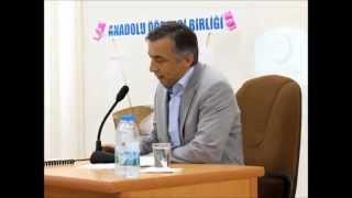 """Prof. Dr. Mehmet Azimli """"Asr-ı Saadet Dönemi Sonu"""" Konferansı (Adana Ç.Ü. İlahiyat Fak.)"""