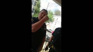 New York cops at my door