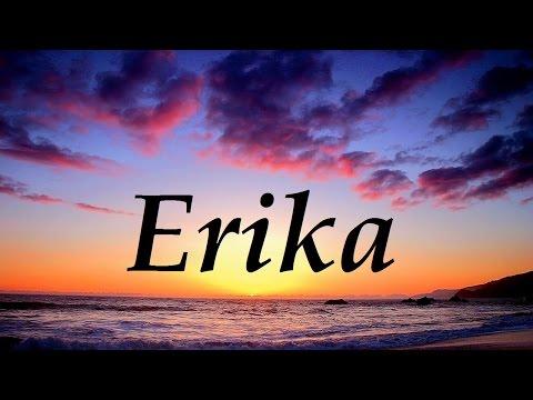 Erika, significado y origen del nombre