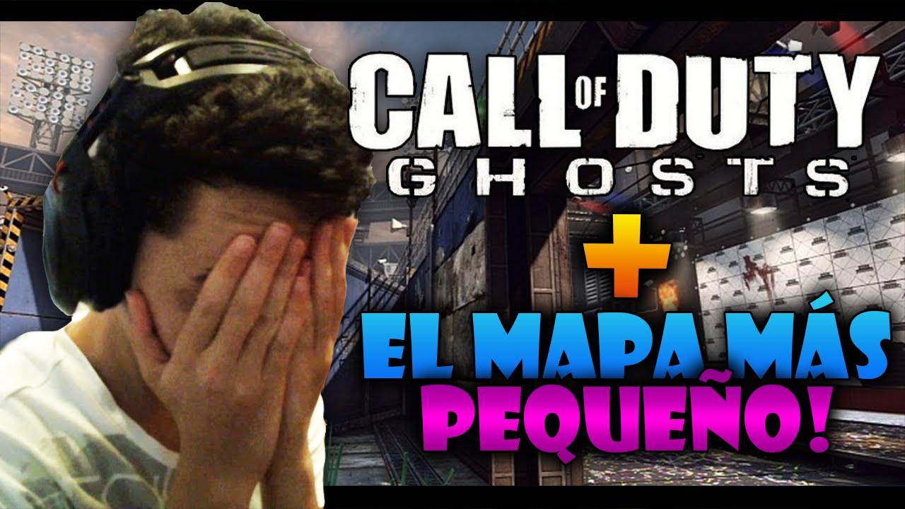 CoD Ghosts & El Mapa Más Pequeño De Call Of Duty - TheGrefg FacePalm 2.0!