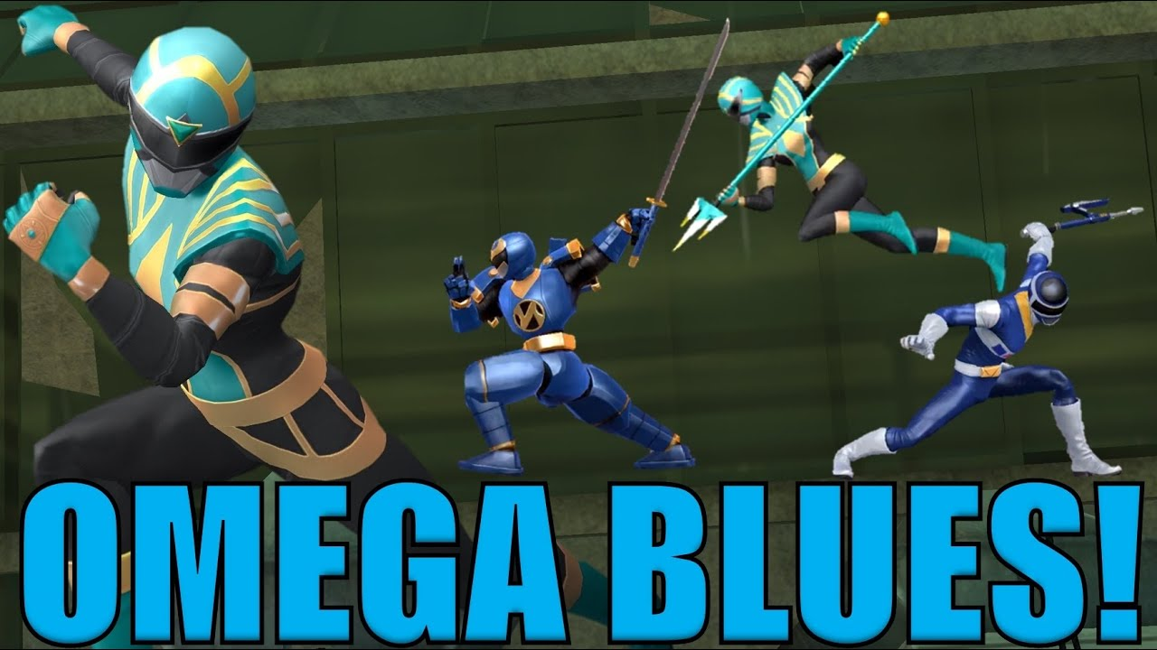 Omega Blues! | Power Rangers Legacy Wars Challenge