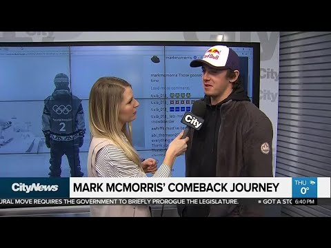 Canadian snowboarder Mark McMorris' comeback story