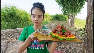 Yummy Cooking Fry Meatballs – Cooking Meatballs - Cooking PHANHA #109