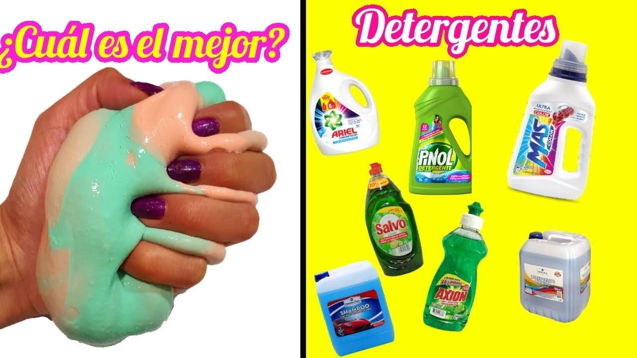 Slime probando detergentes cu l es el mejor youtube for Cual es el mejor detergente para lavadora
