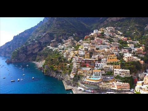 Amalfi Coast, Italy - Drone view, Phantom 3 Standard
