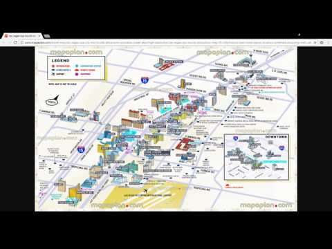 Getting Your Bearings In Las Vegas - Where's My Hotel?