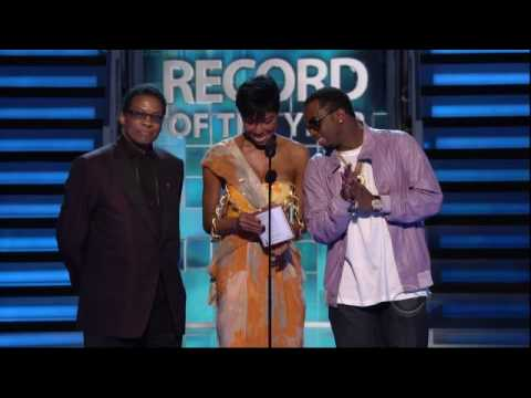 2009 GRAMMY Awards - Plant/Krause Win Record Of The Year