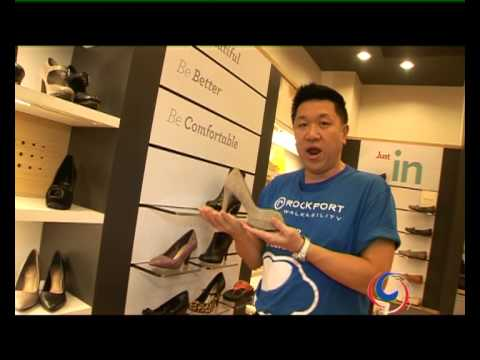 The Rockport Shop in CentralWorld - Very comforatble light shoes for both Men and Women