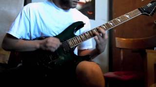 The Black Dahlia Murder - The Raven Guitar cover