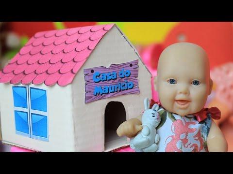 A Casinha do Coelho Maurício - Lilly Doll