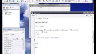Уроки программирования на Delphi 7 (Урок 3.Переменные в  Delphi 7 )