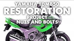 644. Yamaha TDM850 Restoration Project #6 - Nuts and Bolts