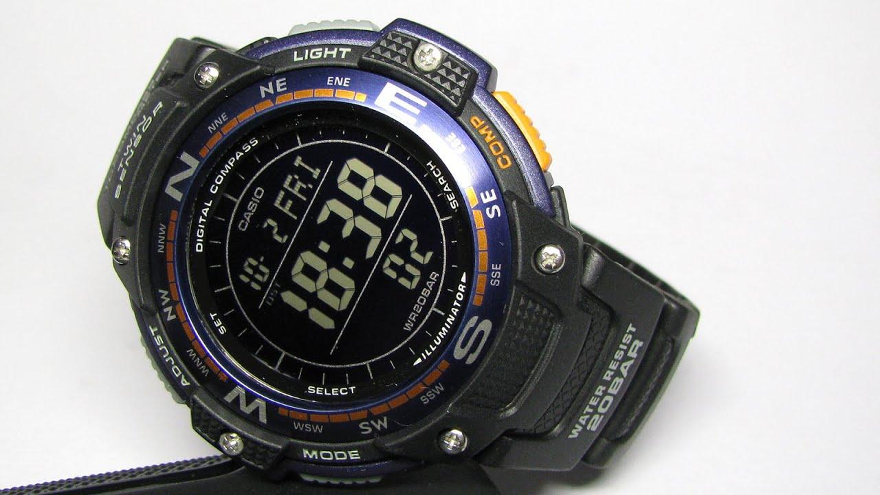 Часы Casio SGW-100B-3A2 Часы Zeppelin ZEP-7684M5