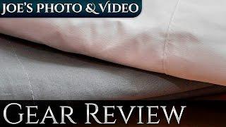 Neewer White, Grey & Black Muslin Backdrop   Gear Review