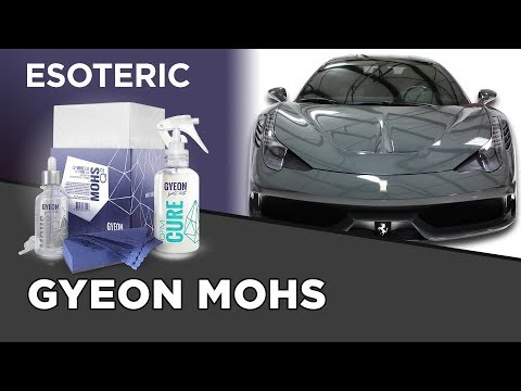 Gyeon Q2 Mohs Coating Review - ESOTERIC Car Care