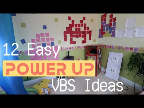 12 Easy Power Up VBS Decoration Ideas | DIY + Inexpensive | Tutorial Tuesday Ep. 80