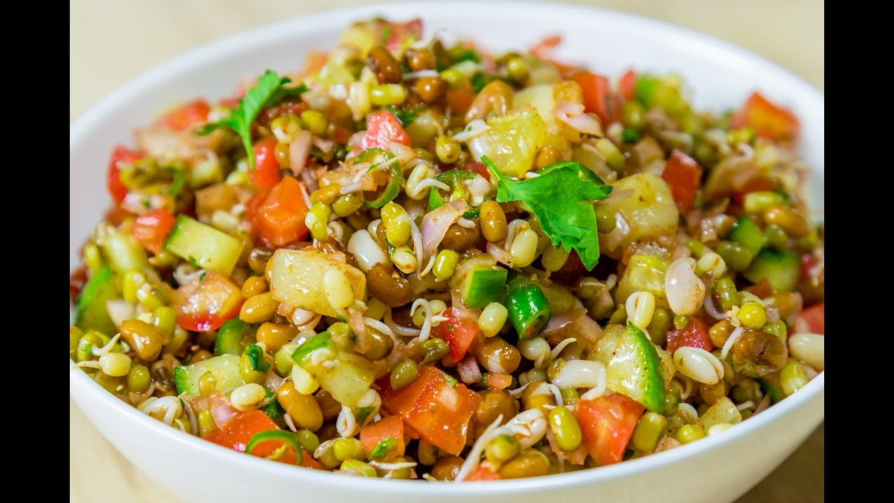 How to Make Moth Dal Chaat | Recipe