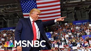 Trump rally chants, Trump backtracks: 'Send her back' - The Day That Was | MSNBC