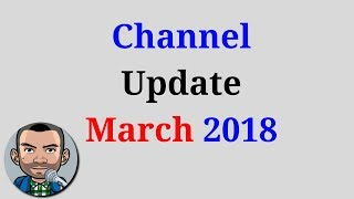 Channel Update March 2018 Low Budget Gaming
