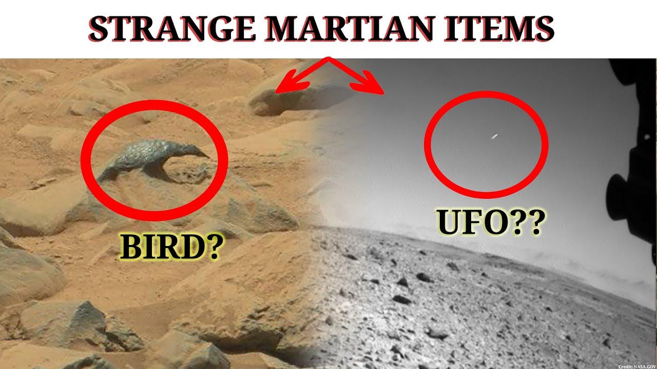 Download MARTIAN STRANGE ITEMS on Mars : UFO | Marte Perseverance