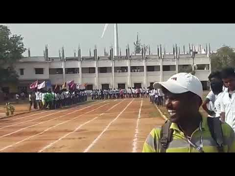 jp college sports meet 100 meter final event win by suthan