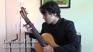 Lachrimae Pavane by John Dowland for 7-String Guitar