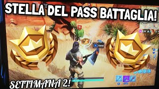 SEARCH OF An OASI, AN ARCHET OF PIETRA AND DINOSAURI - Week 2 [PASS BATTLE 5] - Fortnite ITA