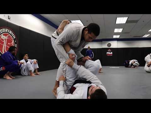 Kennedy Maciel ROLLING At Cobrinha Brazilian Jiu Jitsu Los Angeles!!
