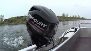 Mercury Aсtive Trim. Установка и испытание. Лодка WYATBOAT. мотор Mercury 60