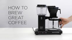 How to Brew Great Coffee on Moccamaster