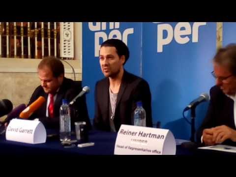 David Garret press-conference Moscow 23.05.2016 (opening)