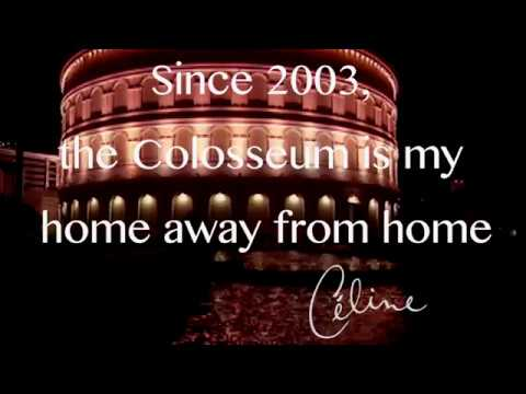 Céline Dion : more than 1000 concerts at The Colosseum !