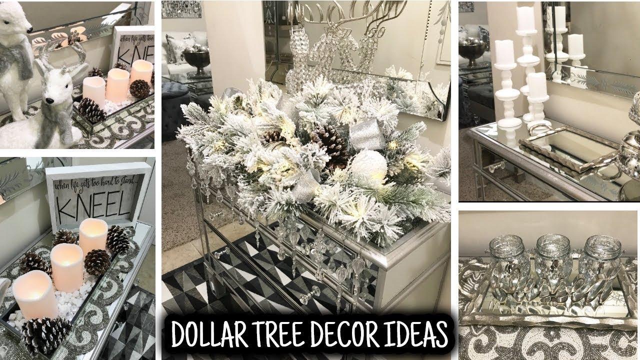 Holiday Entryway Table Home Decor Ideas Youtube