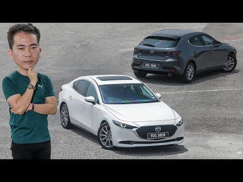 FIRST DRIVE: 2019 Mazda 3 Hatch 1.5 and Sedan 2.0 Malaysian review - RM140k to RM160k